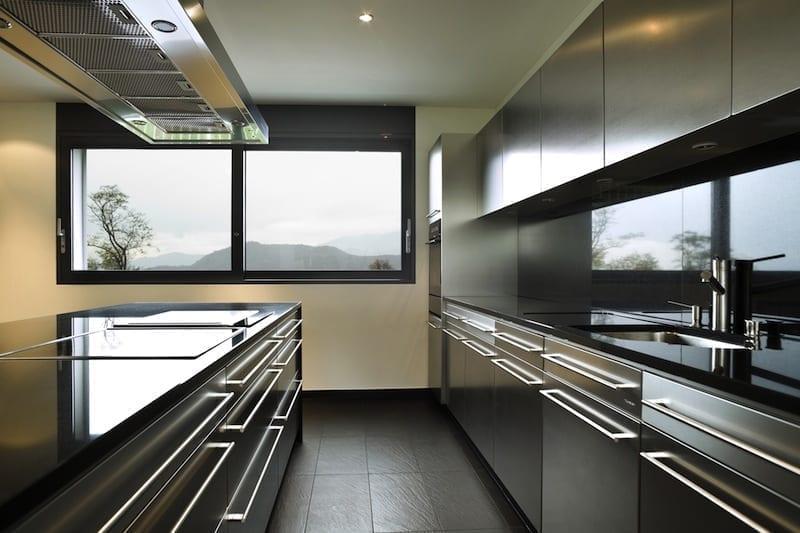 darker kitchen