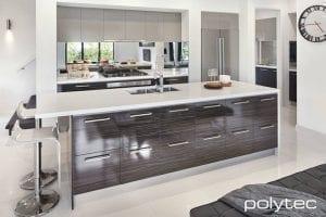 polytec cabinet doors